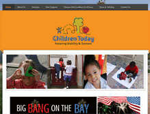 Tablet Preview of childrentoday.org